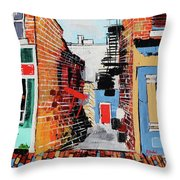 Leesburg Historic District I 201907 Throw Pillow