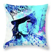 Legendary Aerosmith Watercolor Throw Pillow