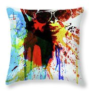 Legendary Fear And Loathing Watercolor Throw Pillow