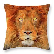 Leo 2a Throw Pillow