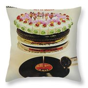 Let It Bleed Throw Pillow