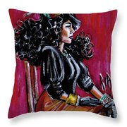 Let Me Be Your Pupil Throw Pillow