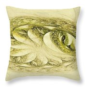 Let Sleeping Dragons Sleep Throw Pillow