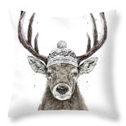 Let's Go Outside  Throw Pillow