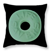 Life Savers Cool Breeze Throw Pillow