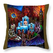 Lifeforce  Throw Pillow