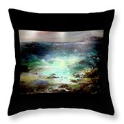 Light Of The Silvery Moon Throw Pillow