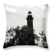 Lighthouse Throw Pillow by Michelle Wermuth