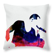 Linkin Park Watercolor Throw Pillow