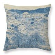 Little Missouri Badlands Enchantment Throw Pillow