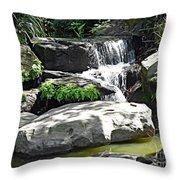 Little Waterfall. Throw Pillow