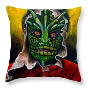 Lizzard V Tv Series  Throw Pillow
