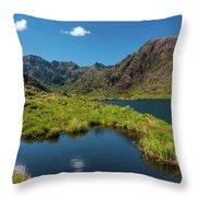 Loch Coriusk, Isle Of Skye Throw Pillow