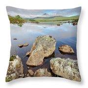 Loch La Stainge Throw Pillow