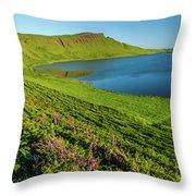 Loch Mor, Glendale, Skye Throw Pillow