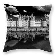 Loire Castle, Chateau De Chambord Throw Pillow