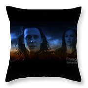 Loki And The Dead World Throw Pillow