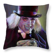 Lon Chaney In London After Midnight Throw Pillow