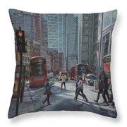 London Bishopsgate Throw Pillow