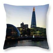 London South Bank 1 Throw Pillow