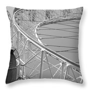 London_eye_ii Throw Pillow by Mark Shoolery