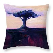 Lone Tree No. 18 Throw Pillow