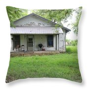 Lonely House 8 Throw Pillow