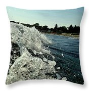 Look Into The Wave Throw Pillow