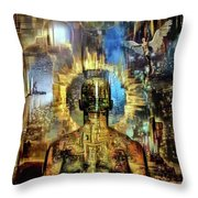 Looking To Eternity Throw Pillow
