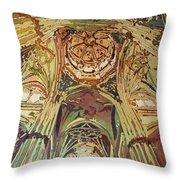 Looking Up Salamanca Cathedral Throw Pillow
