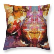 Lost Among Us Throw Pillow