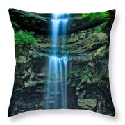 Lost Creek Falls Throw Pillow