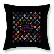 Louis Vuitton Monogram-11 Throw Pillow