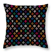 Louis Vuitton Monogram-2 Throw Pillow