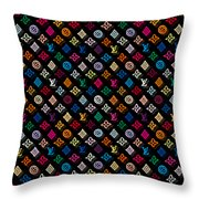 Louis Vuitton Monogram-4 Throw Pillow