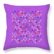 Louis Vuitton Monogram-5 Throw Pillow
