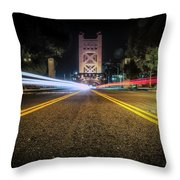 Love Is A Two Way Street Throw Pillow by JD Mims