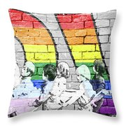 Love Is For Everyone Throw Pillow