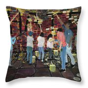 Love Is Stronger Than Hate Throw Pillow