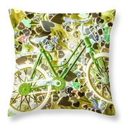 Love Of The Chase Throw Pillow