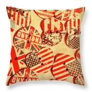 Love Of The Heartland Throw Pillow
