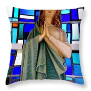 Lovely Mary Throw Pillow