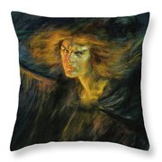Lucifer, 1902 Throw Pillow
