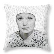 Lucille Ball 2a Throw Pillow