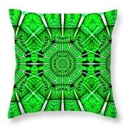 Art Deco Lucky Charms Throw Pillow