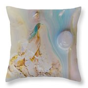 Lunar Drift #1 Throw Pillow