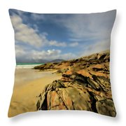 Luskentyre Digital Painting Throw Pillow