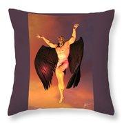 Luzbel Throw Pillow