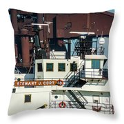 M/v Stewart J. Cort Throw Pillow