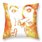 Mac Miller Throw Pillow